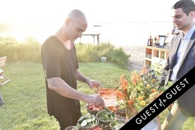 victor calderone in Cointreau & Guest of A Guest Host A Summer Soiree At The Crows Nest in Montauk