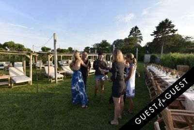 georgia long in Cointreau & Guest of A Guest Host A Summer Soiree At The Crows Nest in Montauk