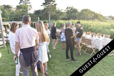 tiger williams in Cointreau & Guest of A Guest Host A Summer Soiree At The Crows Nest in Montauk