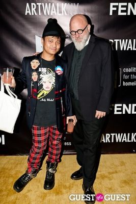 victor john-villanueva in 18th Annual Artwalk NY Benefiting Coalition for the Homeless