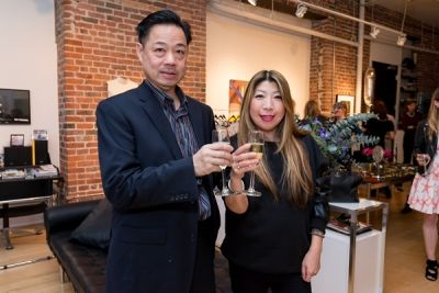 lucy chang in Kamila Dmowska Holiday Trunk Show
