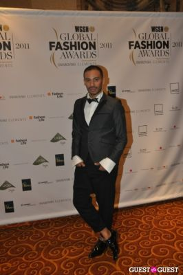 victor de-souza in WGSN Global Fashion Awards.