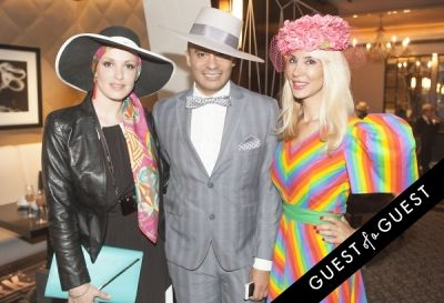 victor de-souza in Socialite Michelle-Marie Heinemann hosts 6th annual Bellini and Bloody Mary Hat Party sponsored by Old Fashioned Mom Magazine