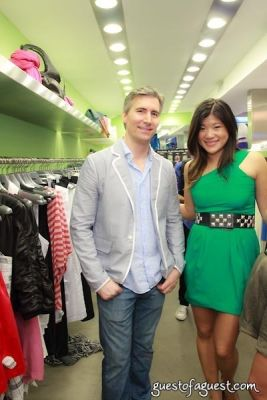 yvonne yip in Sip & Shop for a Cause benefitting Dress for Success