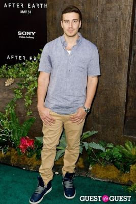 vinny guadagnino in After Earth Premiere