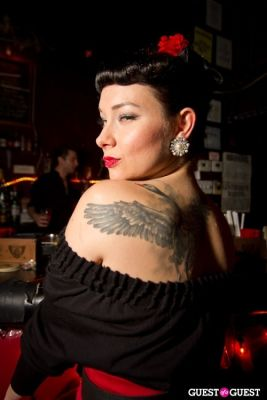 violette mayfaire in Inked Magazine Sailor Jerry Calendar Release Party