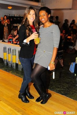 adama sesay in Spa Week Media Party Fall 2011
