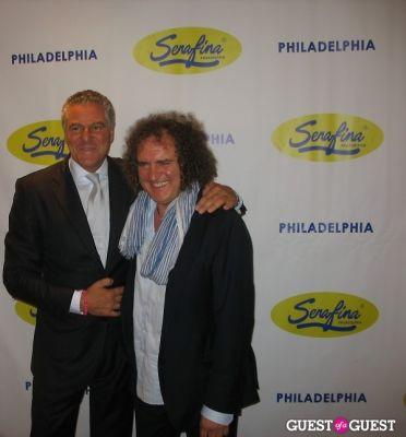 vittorio assaf in Serafina Philadelphia Grand Opening Party