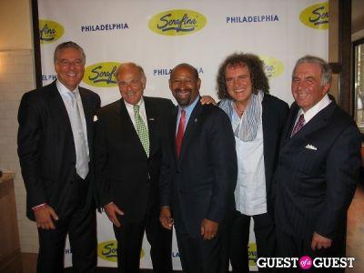 governor ed-rendell in Serafina Philadelphia Grand Opening Party