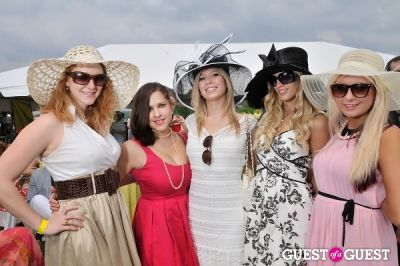 melissa anne-wilson in Becky's Fund Gold Cup Tent