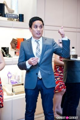 walter grio in Spring Charity Shopping Event at Nival Salon and Jimmy Choo
