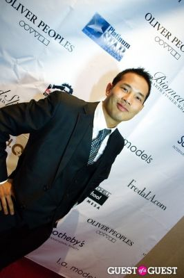 walter sarnoi--the-school-boy- in Legion of Hope Fashion and Awards Gala
