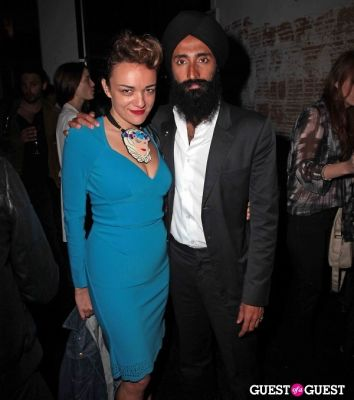waris ahluwalia in Johan Lindeberg Screening at BLK DNM Flagship