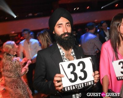 waris ahluwalia in Creative Time Benefit Afterparty