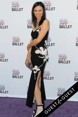 wendi deng-murdoch in NYC Ballet Fall Gala 2014