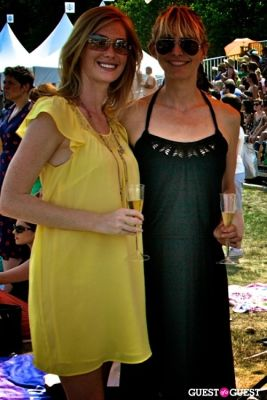 wendi leggitt in Veuve Clicquot Polo Classic on Governors Island