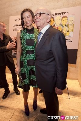 rupert murdoch in The New York Observer 25th Anniversary