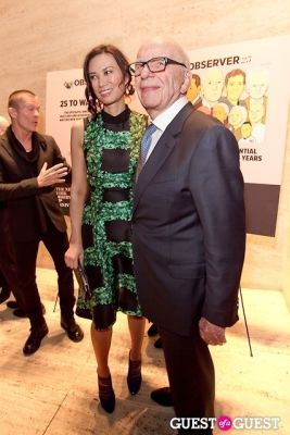 wendi murdoch in The New York Observer 25th Anniversary