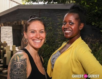 whitney lader in Tastemakers Urban Zen Garden Party