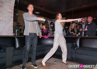 whitney port in Ubisoft Just Dance 2 Launch Party