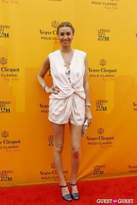 whitney port in Veuve Clicquot Polo Classic at New York