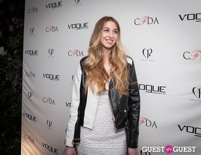 whitney port in 2014 Vogue Eyewear/CFDA Design Series Featuring Charlotte Ronson