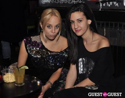natalie zfat in The Train Afterparty with Refinery 29 at Don Hill's