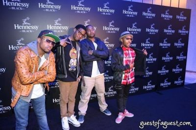 will eddins in Hennessy Black Launch Party