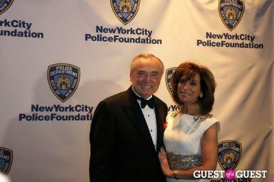 william bratton in NYC Police Foundation 2014 Gala