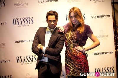 ambria miscia in Refinery 29 + Onassis Party