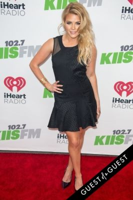 witney carson in KIIS FM's Jingle Ball 2014