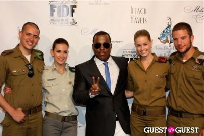 won g in FIDF Israel Independence Day Celebration &