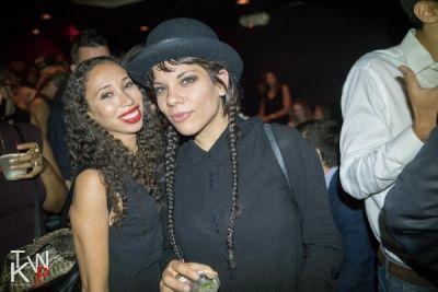 wynne bennett in DKNY Celebration Party NYFW