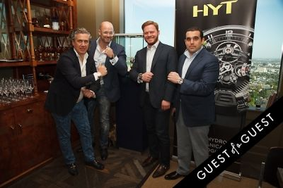 vincent perriard in Haute Living and Westime Present HYT Novelties from Baselworld