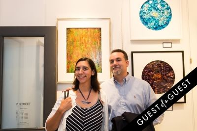 cecilia racine in P Street Gallerie Opening