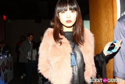 xiao wang in The Kills x Lovecat Magazine Party
