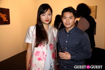 yanyan huang in Art Los Angeles Contemporary Opening Night Reception