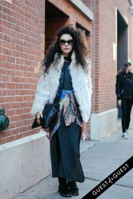 yasmin daguilh in NYFW Street Style Day 1