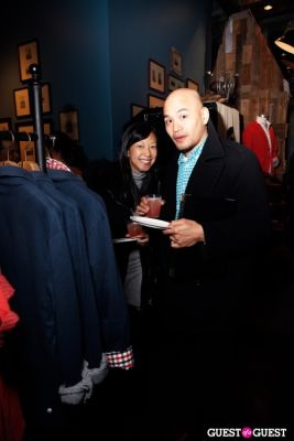 yee chow in Onassis Clothing and Refinery29 Gent's Night Out