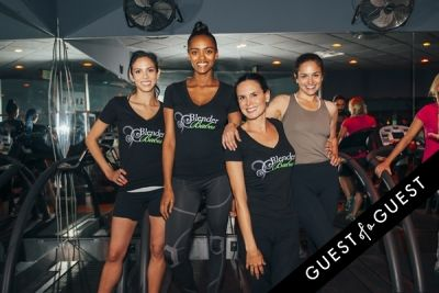 val emanuel in Vega Sport Event at Barry's Bootcamp West Hollywood