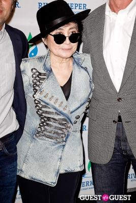 yoko ono in Riverkeeper Fishermen's Ball