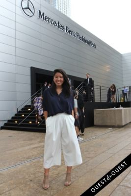 yumi matsuo in NYFW Style From the Tents: Street Style Day 3
