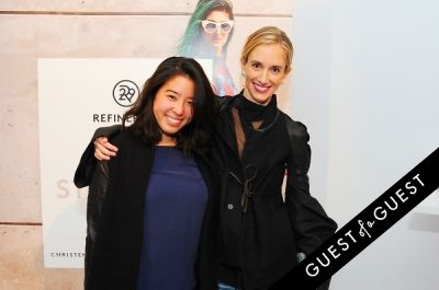 rachelle hruska-macpherson in Refinery 29 Style Stalking Book Release Party