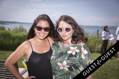 stephanie maida in GUEST OF A GUEST x DOLCE & GABBANA Light Blue Mediterranean Escape In Montauk