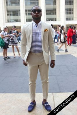 yves kouame in NYFW Style From the Tents: Street Style Day 3