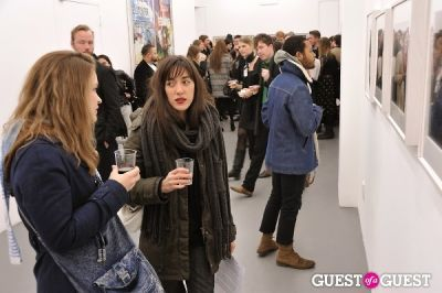 yvette granata in Bowry Lane group exhibition opening at Charles Bank Gallery