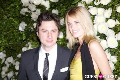zach braff in Chanel Tribeca Film Festival Dinner