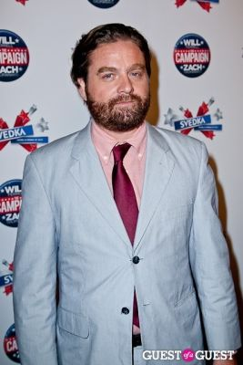 zach galifianakis in SVEDKA Vodka Presents a Special NY Screening of Warner Bros. Pictures' THE CAMPAIGN