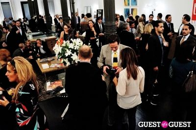 zachary kussin in Luxury Listings NYC launch party at Tui Lifestyle Showroom