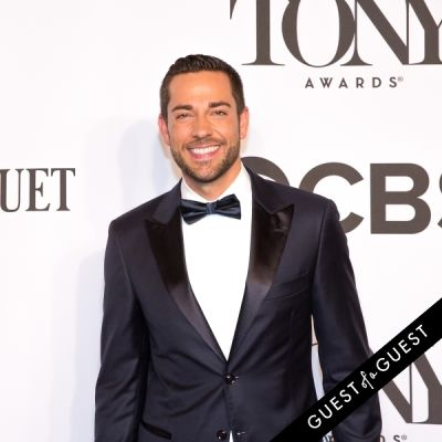zachary levi in The Tony Awards 2014